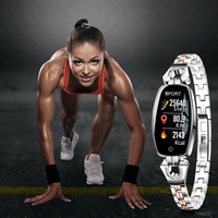 smartwatch for women,sports pedometer smart watch with heart rate,Oxygen and blood pressure monitor, Fitness tracker, alarminder
