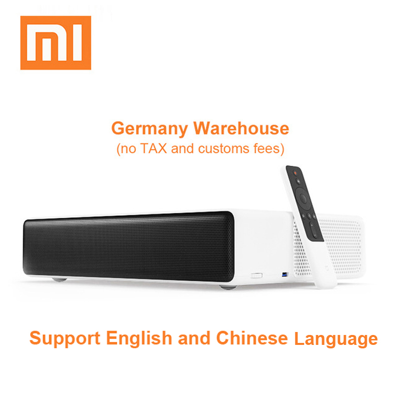 Original Xiaomi Mijia Laser Projeção TV 150 polegadas 1080 k Projetor Full HD 4 Wifi Bluetooth 4.0 Suporte 5000 ANSI lumens
