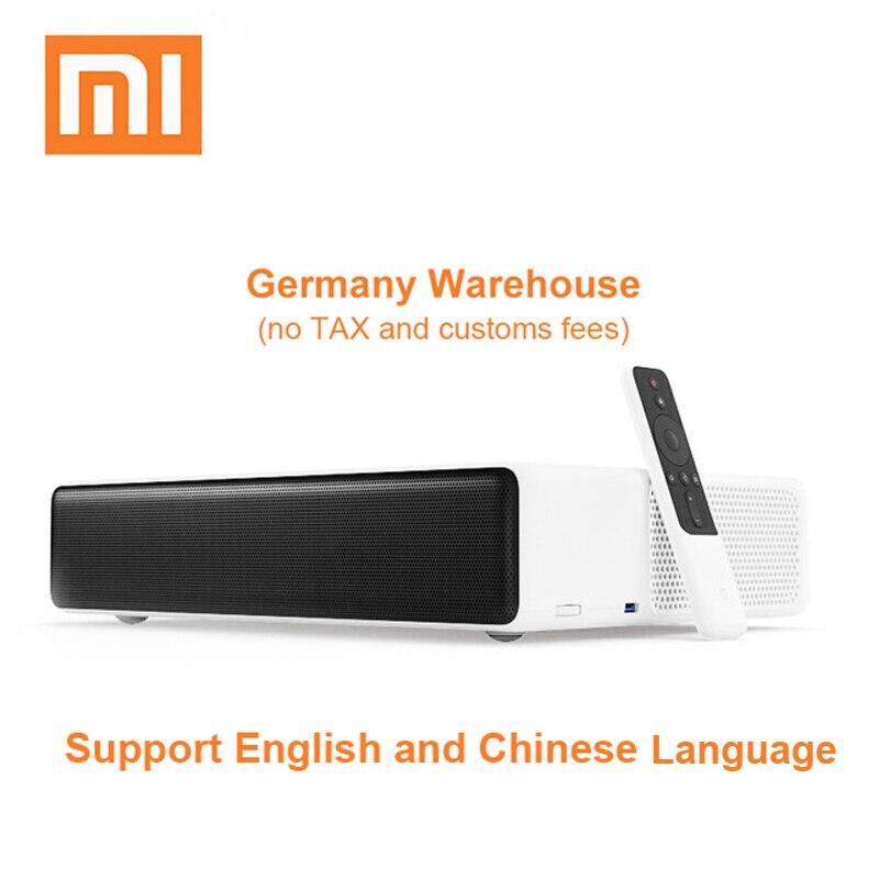 Original Xiaomi Mijia proyección láser TV 150 pulgadas 1080 Full HD 4 K proyector Wifi soporte Bluetooth 4,0 de 5000 ANSI lúmenes
