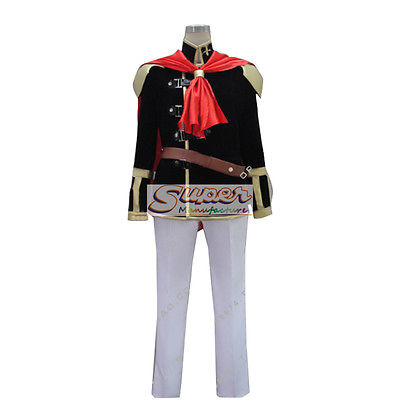 DJ DESIGN Final Fantasy Type 0 Boy Uniform COS Clothing Cosplay Costume