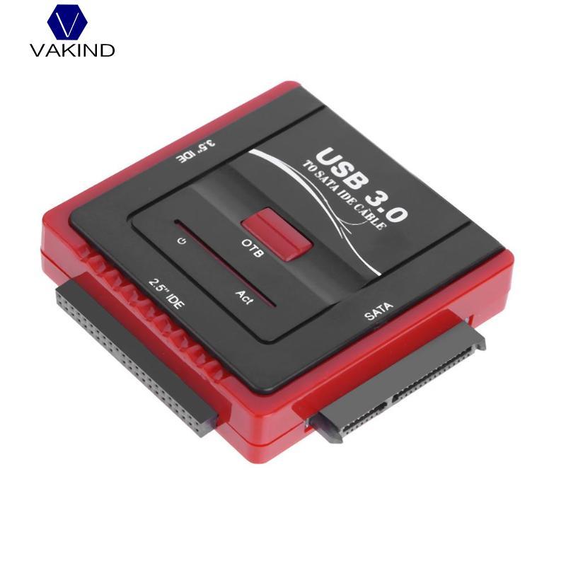 VAKIND High speed USB3.0 To SATA/IDE Hard Drive Converter For Universal 2.5 3.5 HDD/SSD Hard Drive Disk Optical Drive q6675 67033 new hard drive disk for designjet z2100 z3100 ps 160gb w fw sata hdd q6675 60121 q5670 67001