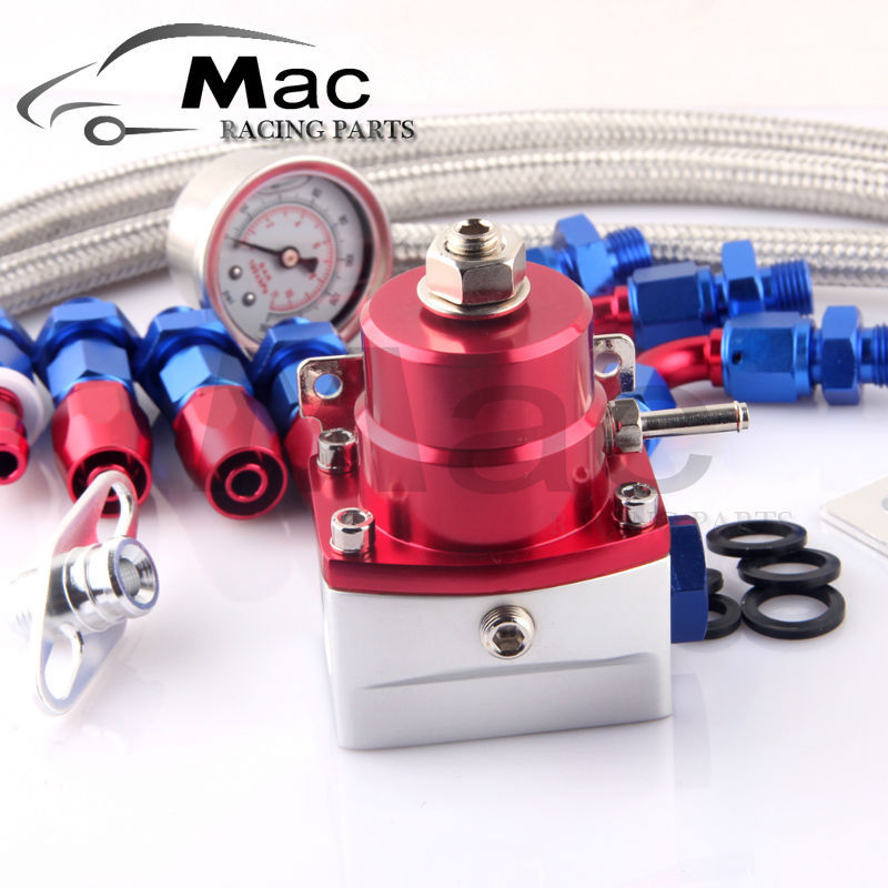 high quality auto Fuel Pressure Regulator Oil Cooler Kit an6 size