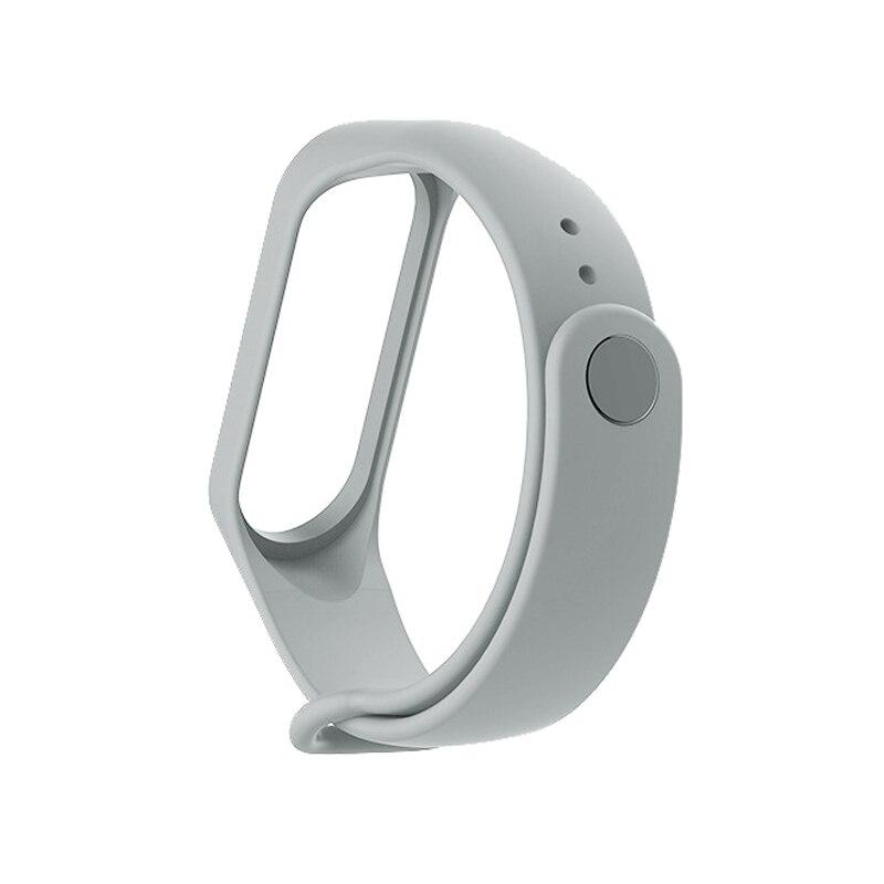 Bracelet For Xiaomi Mi Band 3 Sport Strap Watch Silicone Wrist Strap For Xiaomi Mi Band 3 Accessories Bracelet Miband 3 Strap #6