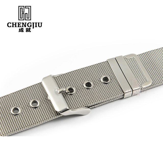 Women Stainless Steel Watchband For IWC/Armani/Calvin Klein/Hamilton For AR2453 ar2452 ar2447 Watches Strap For Men Watch Band
