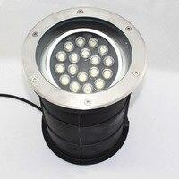 Fanlive 3 uds ángulo ajustable 15w18w Ac85-265v IP68 LED regulable lámpara subterránea enterrada Lámpara decorativa de escalera luz empotrada