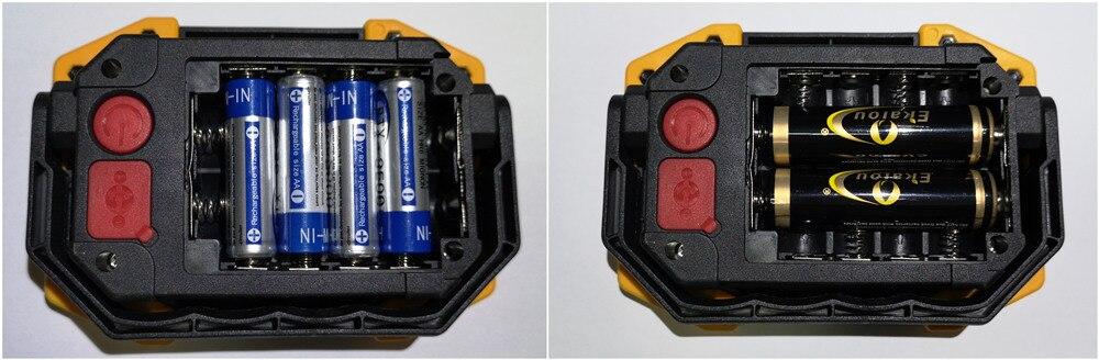 18650 bateria recarregável 3-modo lanternas portáteis