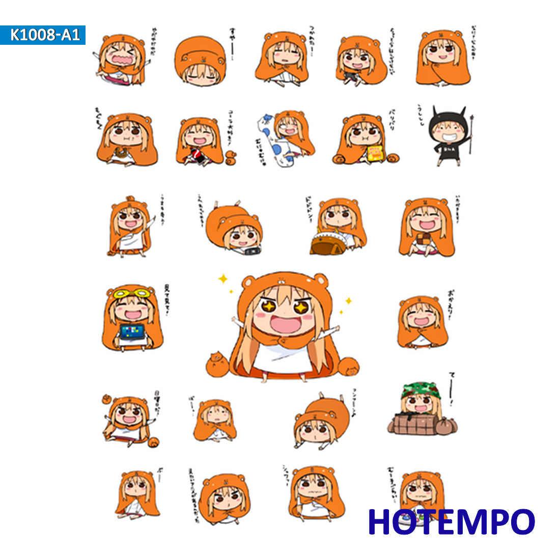Anime himouto umaru-chan adesivos para menina crianças presente diy carta diário scrapbooking papelaria pegatinas adesivos