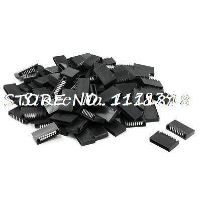 100 Pcs Dual Rows 17 Pins S-17P Right Angle Header for Breadboard100 Pcs Dual Rows 17 Pins S-17P Right Angle Header for Breadboard