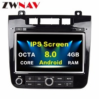 IPS Screen Android 8.0 Car multimedia Player head unit For VW/Volkswagen TOUAREG 2010 2014 With GPS Navigation Radio auto stereo