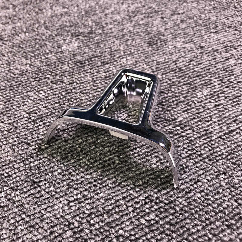 Jeazea ABS Chrome Vô Lăng Viền Bao Da Miếng Dán Xe Volkswagen VW GOLF 6 MK6 Polo Jetta MK5 2009 2010 2011 áo Thun Polo Bora Sagitar