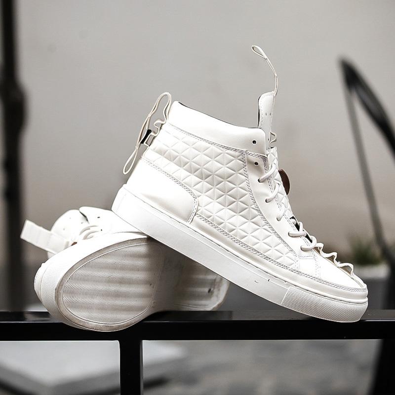 17 New Spring Autumn British Style Men Shoes Casual Shoes Men High Tops Fashion Hip Hop Shoes Zapatos De Hombre Mens Shoes 6