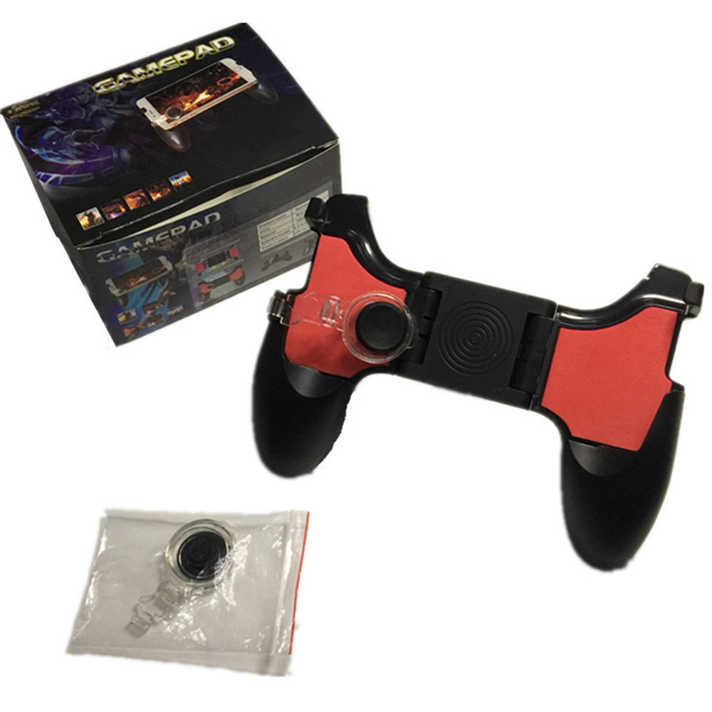 PUBG Moible Controller Gamepad Free Fire L1 R1 Triggers pugb Mobile Game Pad Grip L1R1 Joystick for iPhone Android Phone image