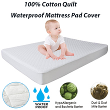 160X200CM 1PC Cotton Mattress Pad Quilt Waterproof Mattress Topper For Bed Cover Matelas Anti Mites Waterproof Mattress Cover