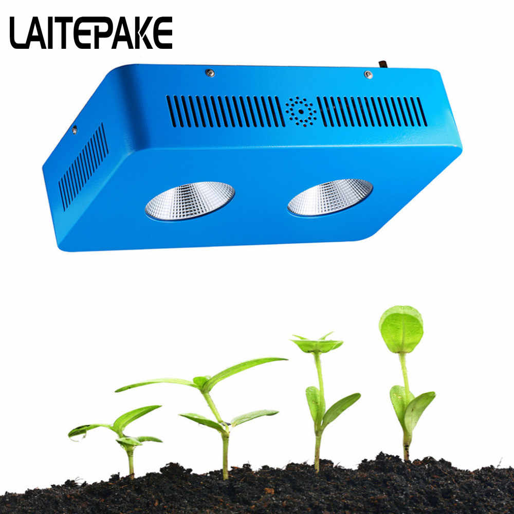 LAITEPAKE Dominator 600W COB Grow Light Kit Full Spectrum With 2pcs Lens  Pants Grow Faster Flower Bigger High Yield Hot style
