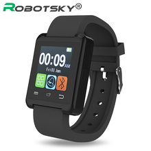 Smartwatch Support TF Card Bluetooth digital with camera Anti-lost Call Reminder Smart Watch for IOS Android phone WristWatch