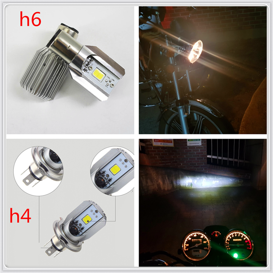 <font><b>Led</b></font> Motorcycle <font><b>Headlight</b></font> lamp Bulb H6 h4 6000k Light ATV for Kawasaki <font><b>NINJA</b></font> <font><b>300</b></font> 250R ZX636R ZX6RR 400R image