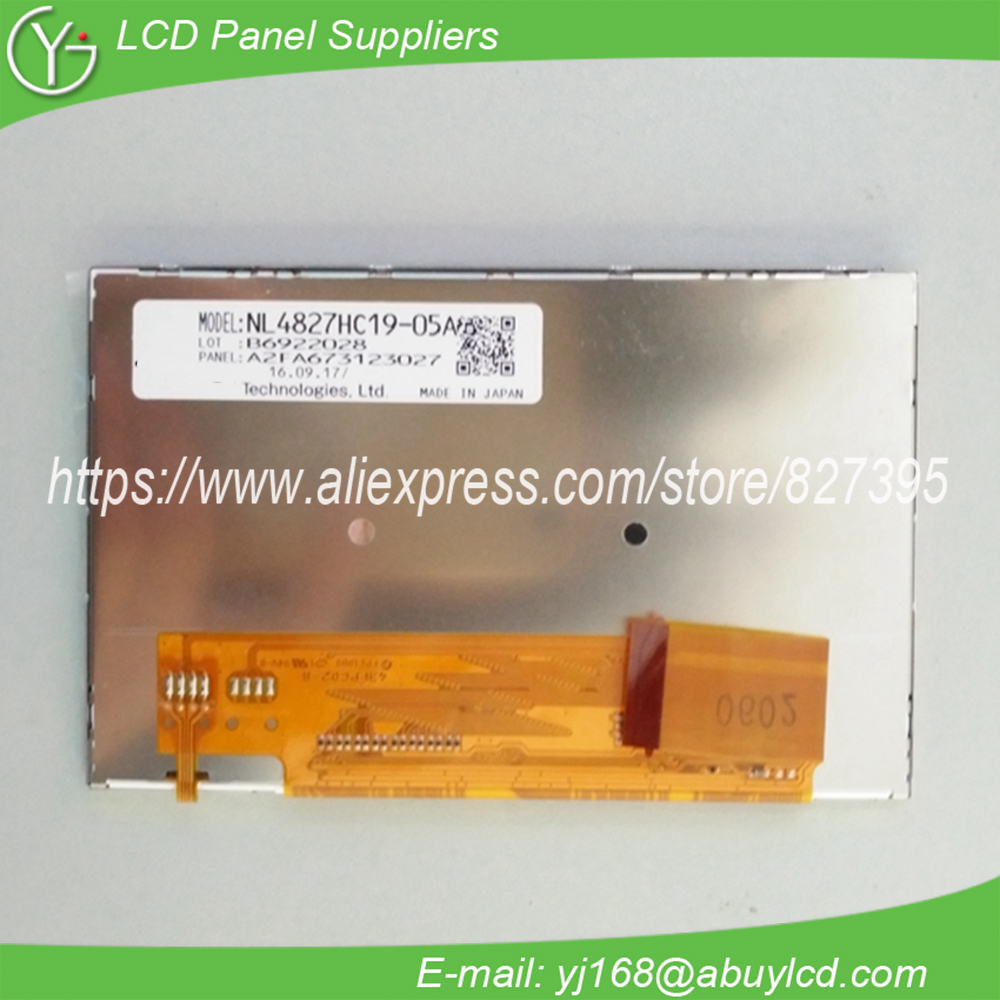 4.3inch lcd display panel NL4827HC19-05A4.3inch lcd display panel NL4827HC19-05A