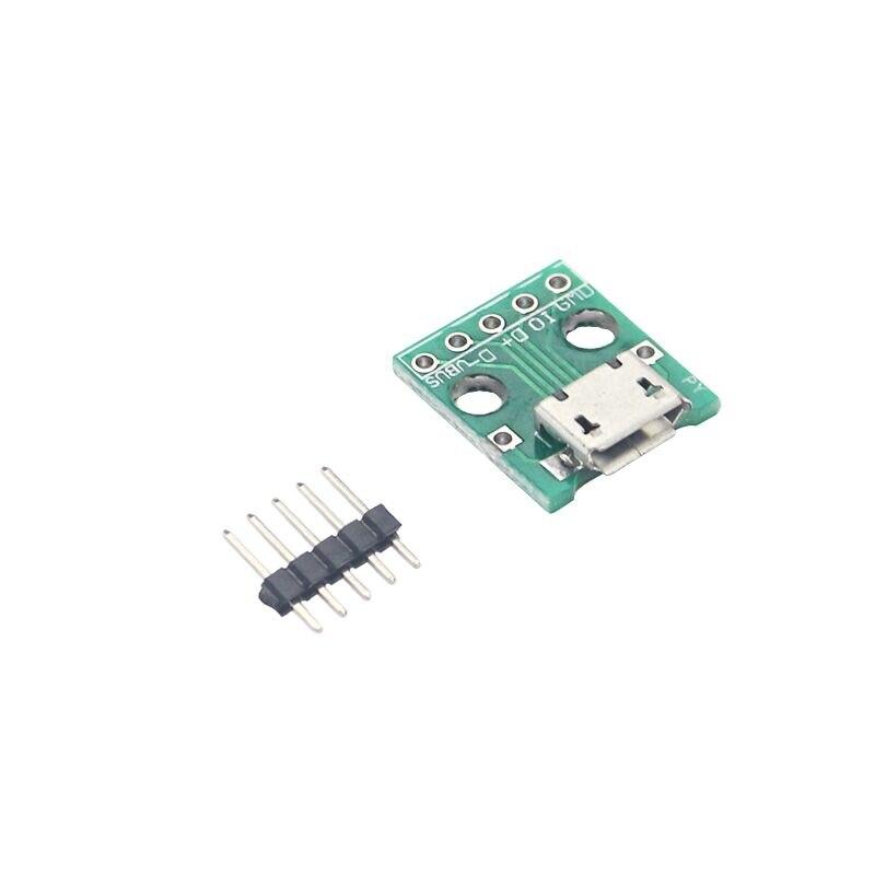 Micro USB to DIP Switch DIP Adapter Board Module Micro USB