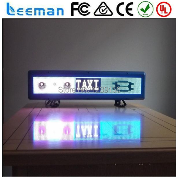 Leeman OEM изготовление рекламы led TV экран водить автомобиль такси верхний рекламный щит рекламный щит