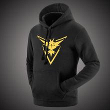 Pokemon Go Team Mystic Team Instinct Hoodies Sweatshirt