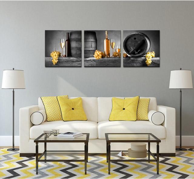 Online Shop Moderna di Arte Della Parete, Vintage Uva Vino Pittura ...