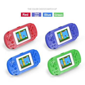 Handheld 8 Bit LCD Screen Game Console Built-in 268 Classic Games Kids Gift