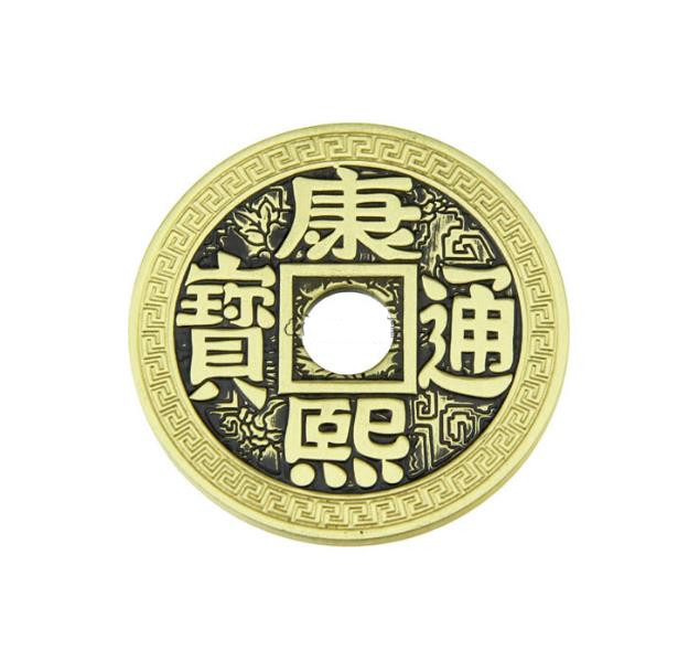 Pack Of 5 Luohanqian Chinese Coin Magic Set Coin Appearing Magic Tricks Size 38mm,close Up Magic,mentalism Gimmicks,Illusion
