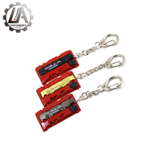 LA racing-JDM style Fashion Metal Auto Car Logo key ring keyring keychain key chain for Honda F20 Engine Valve Cover Chaveiro