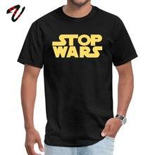 STOP WARS 2019 New Fashion Design Tops & Tees Round Collar Summer Pure Naruto Tintin Sleeve T Shirts for Boys Normal Tshirts
