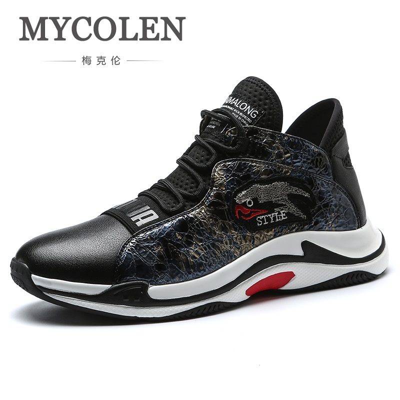 MYCOLEN 2018 Spring/Autumn Men Casual Shoes Lightweight Breathable Flats Shoes Top Quality Comfort Loafers Zapatos De Hombre zplover fashion men shoes casual spring autumn men driving shoes loafers leather boat shoes men breathable casual flats loafers