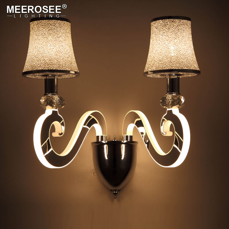 Modern Creative Wall Light LED Bedside Wall Lamp Bedroom Sconces Aisle Corridor LED Bra Wall Lighting modern bedside lamp wall light minimalist fabric shade wall sconces lighting fixture for balcony aisle hallway wall lamp wl214