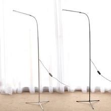 Современный светодиодный напольный светильник с затемнением, тонизирующий 72 светодиодный s USB Гибкий стоячий светильник для чтения с гибкой полосой для спальни и офиса