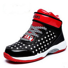 Kids Basketball Shoes 2016 New Boy And Girl Cheap Sport Sneakers High Children Superfly Sneakers Sale In China