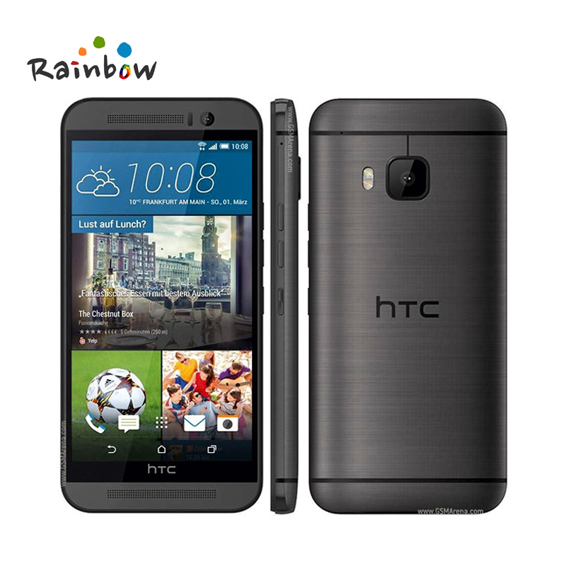 m9 unlocked htc one m9 mobile phone octa core 5 0 touchscreen android gps wifi 3gb ram 32gb rom. Black Bedroom Furniture Sets. Home Design Ideas