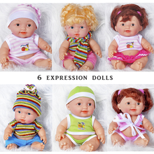 Princess Girl Doll Handmade Full Silicone Vinyl Reborn Baby Dolls With Red Rose Clothes Set Kids Birthday Gift Classic 10 Inch цена в Москве и Питере