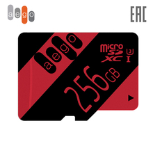 Карта памяти AEGO 256 128 64 32 16ГБ Class 10 U3 microSDHC UHS-I  (без адаптер)