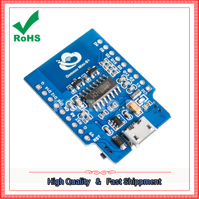 S1 ESP8266 MODULE serial port WIFI things development board module compatible with NODEMCU witty cloud