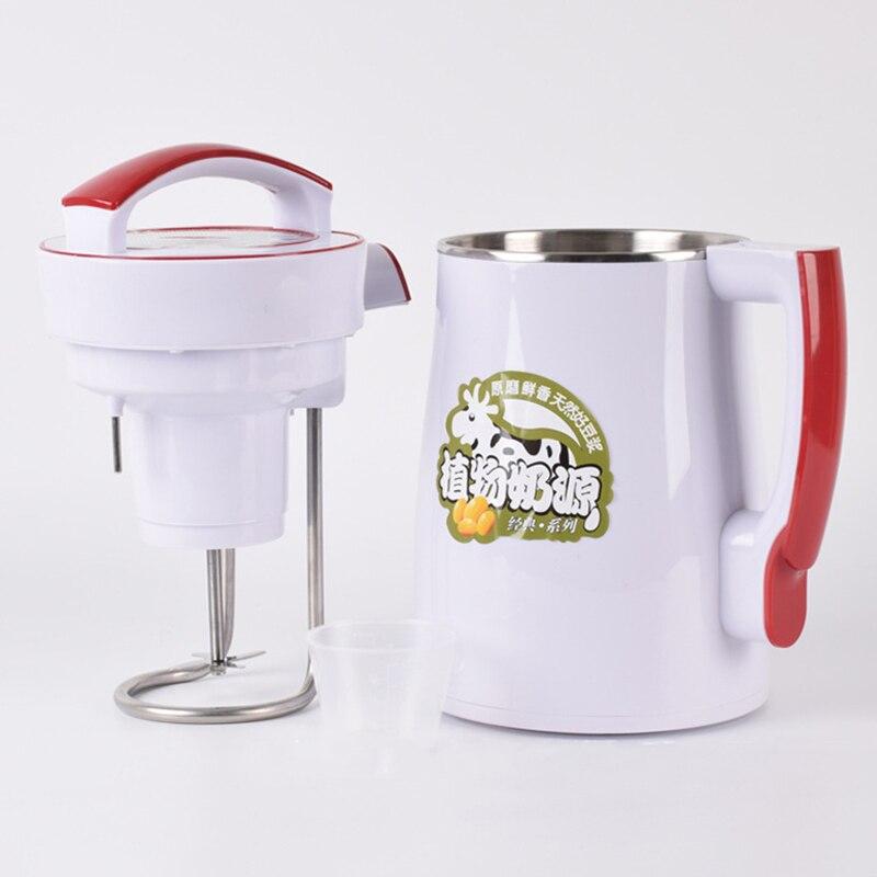Многофункциональный 2л соевое молоко машина для перемешивания сока риса приспособление для приготовления пасты из нержавеющей стали фруктовый сок соевое молоко злаки суп машина 800 Вт 220 В