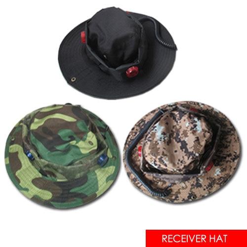 Laser Tag Receiver Hat, Three Receiver Sensors, Three Color