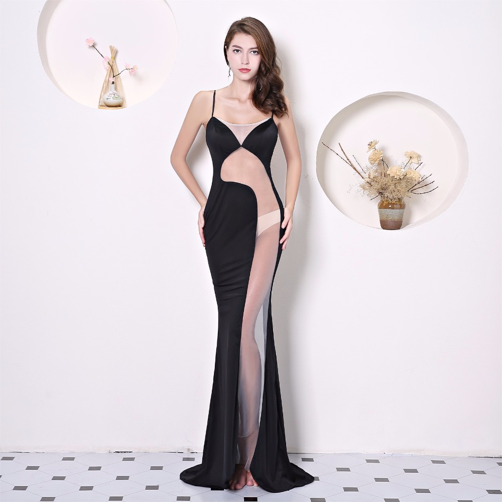 Floor-length Evening dress Star Sexy Prom 2018 Club Party banquet Dresses  dress Night entertainment venue zipper dress afa3440decbf