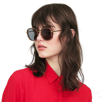 Classical style Vintage sunglasses Mad Crush wome men brand design sunglass with original case and box colorful polarized lens