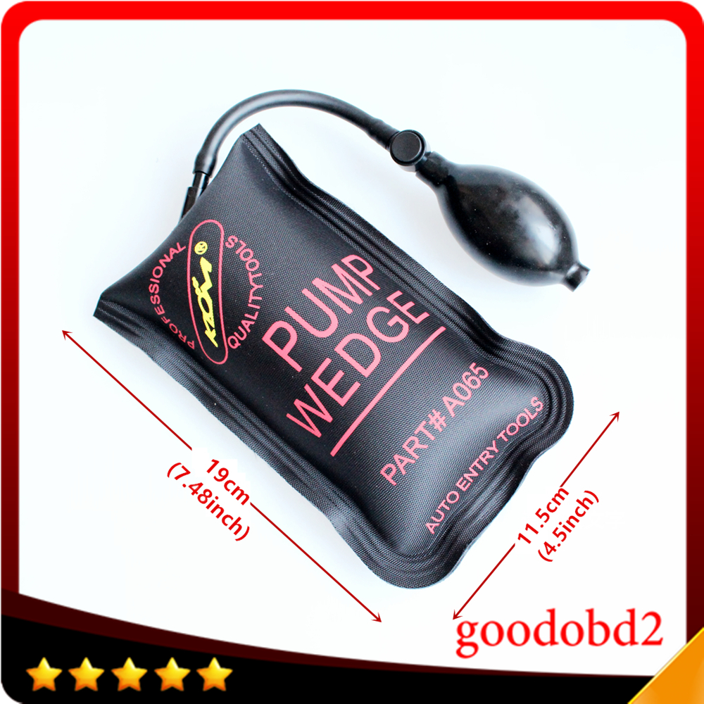 Auto iscrizione strumento klom airbag powerful mano tool set attrezzi del fabbro auto door opener air wedge strumento di allineamento gonfiabile shim