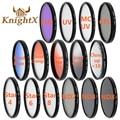 Knightx estrella mc uv cpl fld nd lente de filtro de color para sony nikon canon 700d 100d d3300 dslr cámara 52mm 58mm 67mm 77mm d5200 d5300