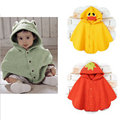 classical girls cloak fleece with hat kids outerwear baby cape 3 colors (free size fit for age 0-3y)children casual  tops