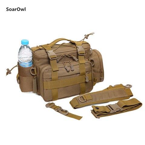 multifuncional ombro saco de artes pesca
