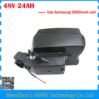 Free Customs Duty 48V Bicycle Battery 48V 24AH Scooter Ebike Battery Use Samsung 30B Cell 30A