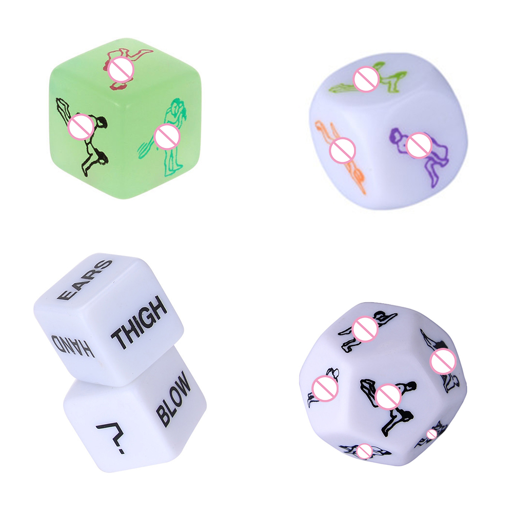 5 Pcs Set Adult Games Dice Fetish Massage Funny Sex Dice Sexy Romance Erotic Craps Pipe SM Toy For Couples Exotic Accessories