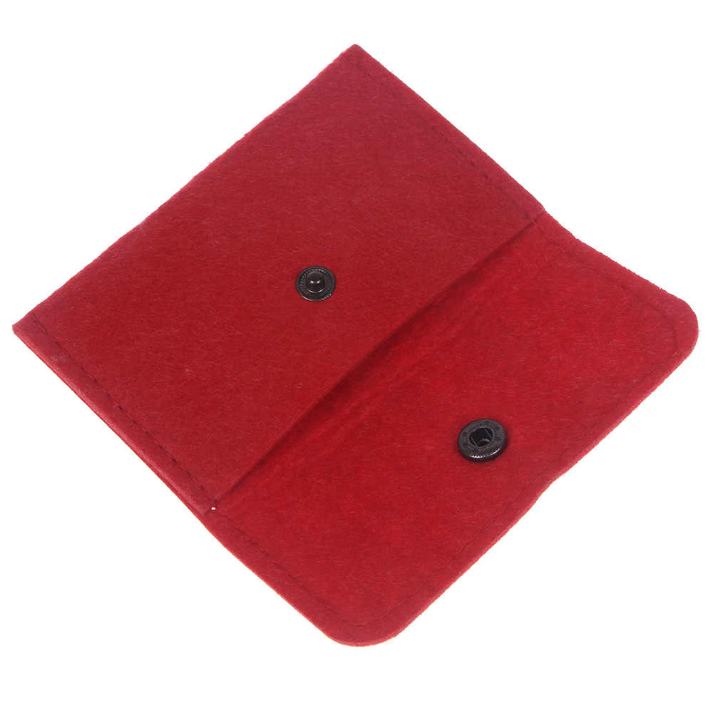 Dünne Brieftasche Platz Fühlte Geldbörse Kreditkarte Halter ID Business Mens Echtes Fühlte Schnalle Brieftaschen Halter freies verschiffen