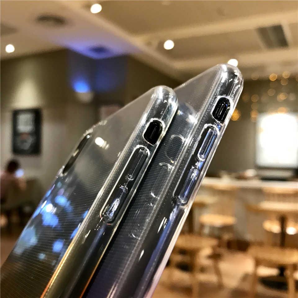 Colorful Rainbow Case Para iphone 7 8 Plus X XR XS MAX 6s Caso Capa de Silicone XiaoMi RedMi 6A 6 5 Pro 5A 4A 3S Nota 3 4 4X5 Plus