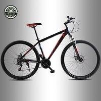 21 Скорость Алюминий Рамка Велосипеды Высокое качество 29 дюймов горный велосипед спереди и сзади механические дисковые тормоза бесплатно д...